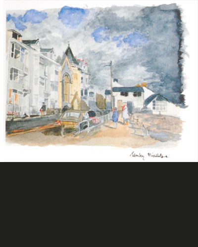 A limited number of life size prints of the original watercolour of the town of Bealthorpe